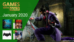 January 2020 - Instant Game Collection in Games With Gold