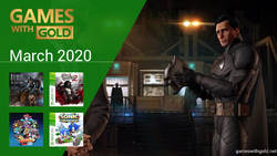 March 2020 - Instant Game Collection in Games With Gold