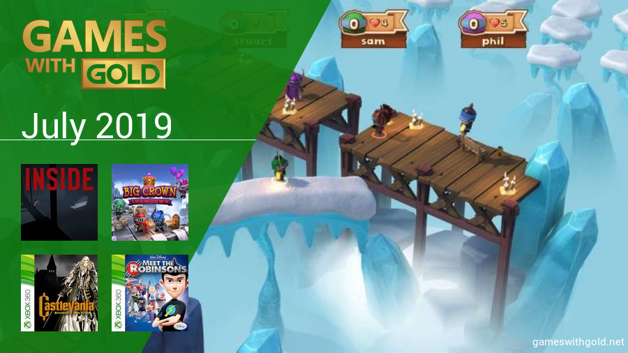 July 2019 - Instant Game Collection in Games With Gold
