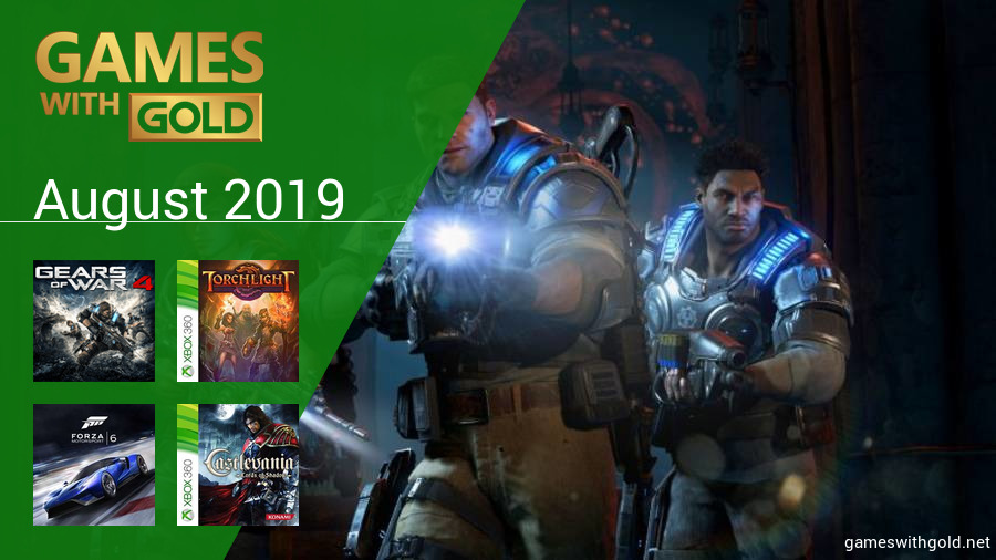 August 2019 - Instant Game Collection in Games With Gold