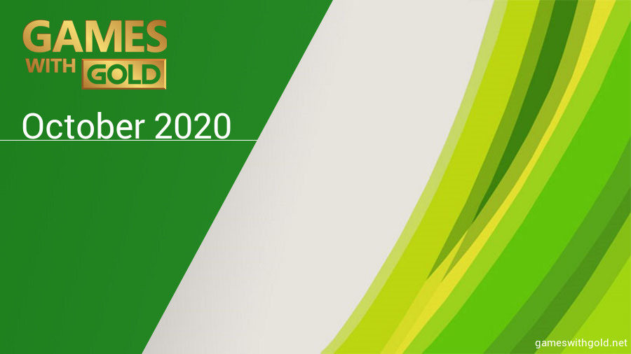 October 2020 - Instant Game Collection in Games With Gold