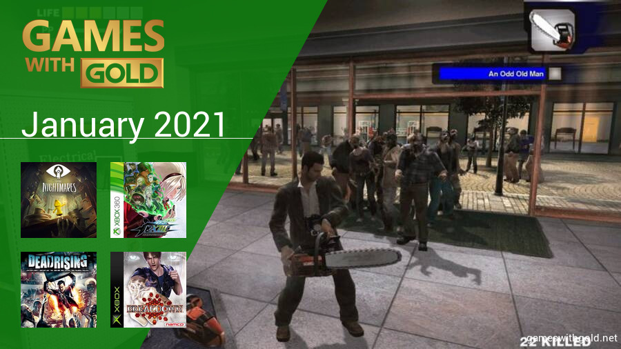 January 2021 - Instant Game Collection in Games With Gold