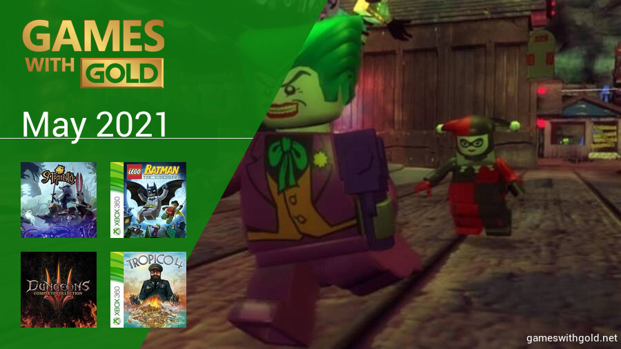 May 2021 - Instant Game Collection in Games With Gold