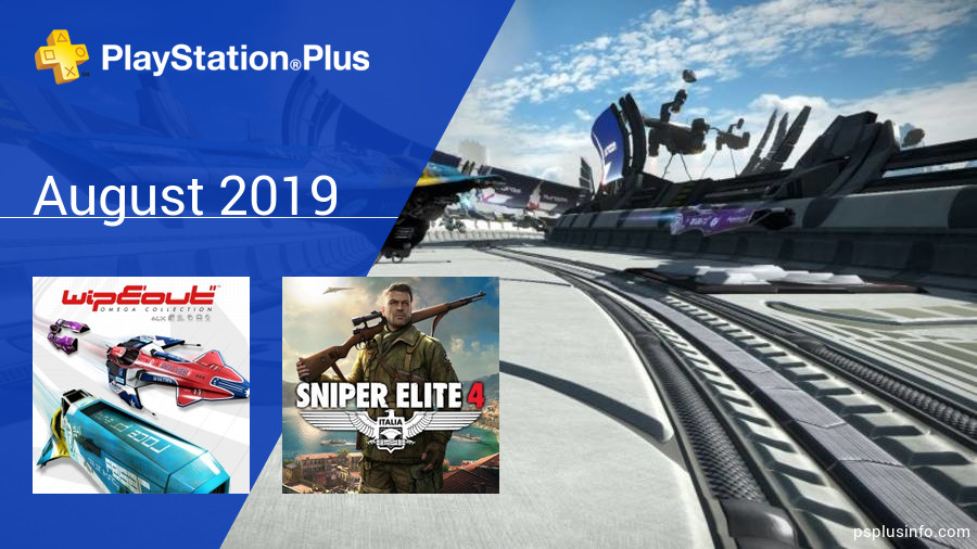 August 2019 - Instant Game Collection in PlayStation Plus