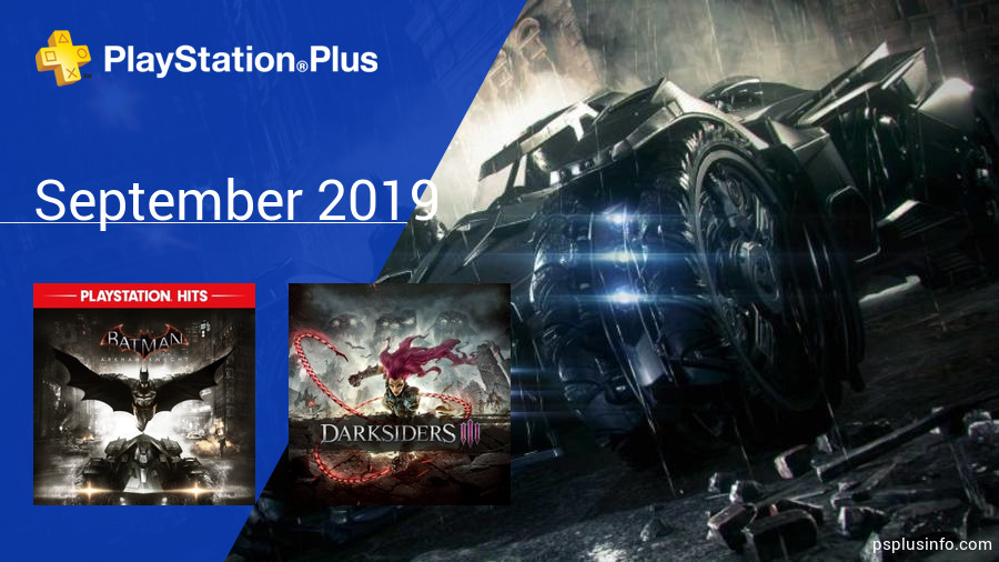 September 2019 - Instant Game Collection in PlayStation Plus