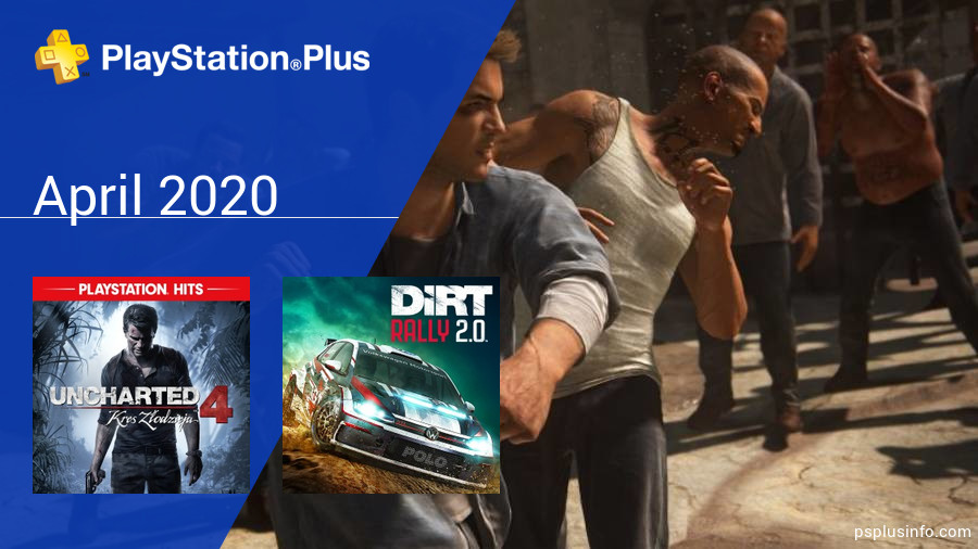 April 2020 - Instant Game Collection in PlayStation Plus