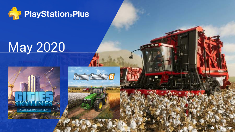 May 2020 - Instant Game Collection in PlayStation Plus