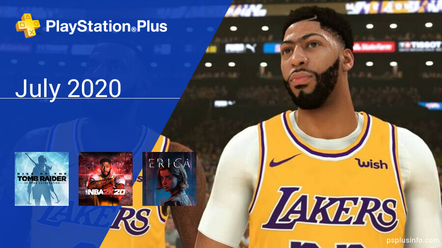 July 2020 - Instant Game Collection in PlayStation Plus
