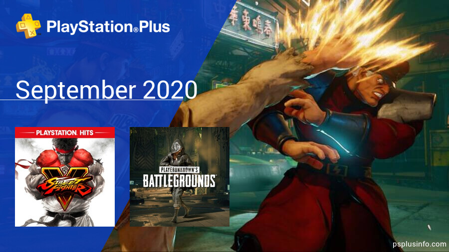 September 2020 - Instant Game Collection in PlayStation Plus
