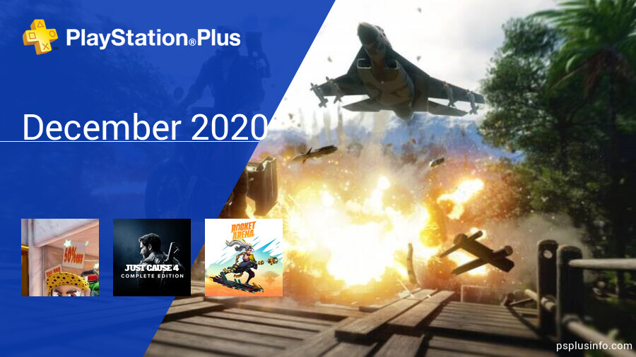 December 2020 - Instant Game Collection in PlayStation Plus