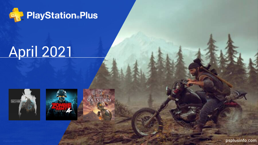 April 2021 - Instant Game Collection in PlayStation Plus