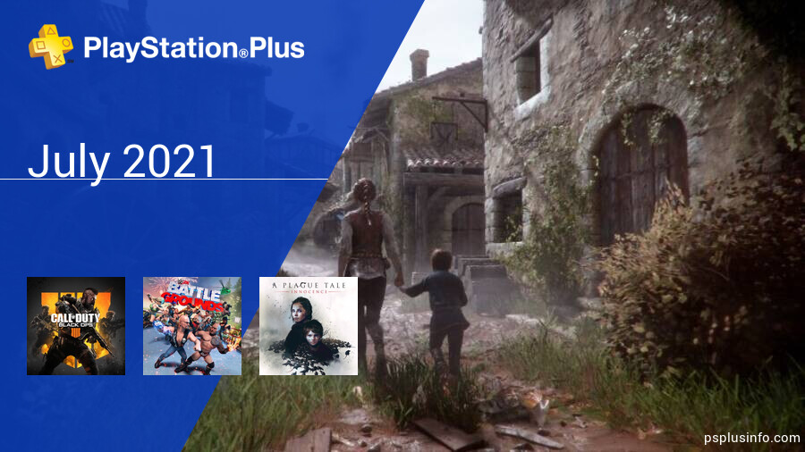 July 2021 - Instant Game Collection in PlayStation Plus